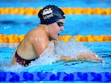 Danielle Lowe of Team England competes in the 400m individual medley heat on July 24, 2014