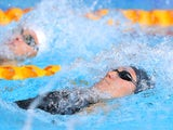 England's Elizabeth Simmonds during the 200m backstroke heats on July 27, 2014
