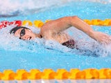Francesca Halsall during the 100m freestyle heats on July 27, 2014