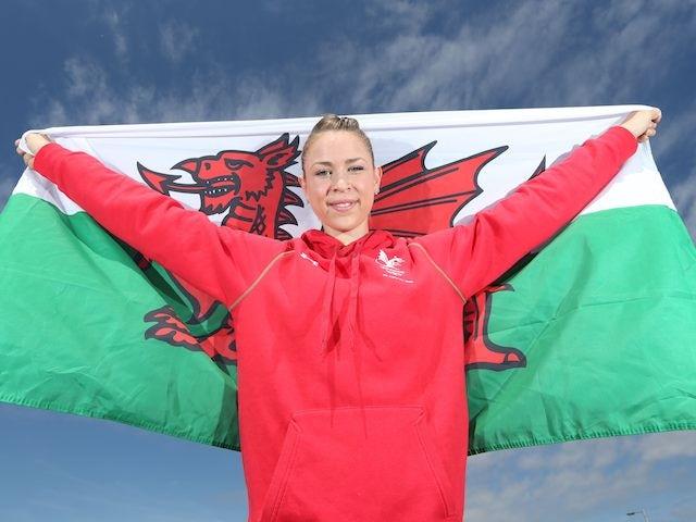 Gymnast Frankie Jones is named as the Team Wales flagbearer