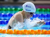 Scotland's Hannah Miley during the women's 200m breaststroke heat on July 26, 2014