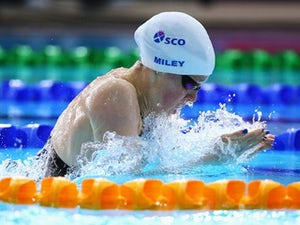 Result: Miley misses out on 200m fly final