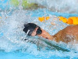 James Guy competing in the men's 200m freestyle heat on July 25, 2014