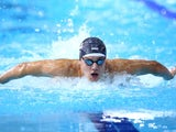 England's James Guy during heats for the 100m butterfly on July 27, 2014
