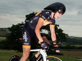 Joanna Rowsell of Wiggle Honda in action during the Elite Women British National Time Trial Championships on June 26, 2014