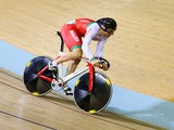 Lewis Oliva of Team Wales competes in the men's sprint on July 24, 2014