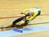Matthew Glaetzer of Australia competes in the Men's Sprint qualification at Sir Chris Hoy Velodrome during day one of the Glasgow 2014 Commonwealth Games on July 24, 2014