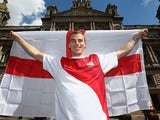 Squash star Nick Matthew is unveiled as the Team England flagbearer on July 22, 2014