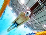 Rob Holderness of Wales competes in the Men's 200m Breaststroke Heat 1 at Tollcross International Swimming Centre during day one of the Glasgow 2014 Commonwealth Games on July 24, 2014