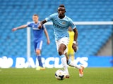 Seko Fofana of Manchester City during the Barclays U21 Premier League match between Manchester City U21 and Chelsea U21 at Etihad Stadium on May 1, 2014