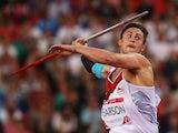 Benjamin 'Benji' Pearson during the men's javelin on August 1, 2014