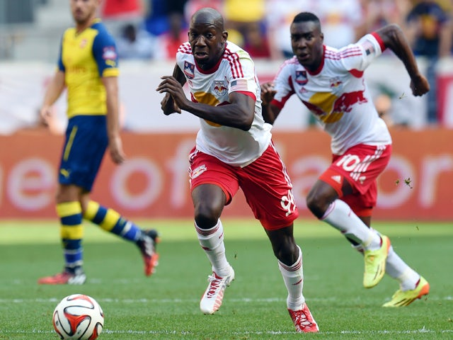 Result: New England beaten by 10-man Red Bulls