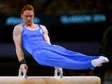 Daniel Purvis of Scotland competes in the Men's Pommel Horse Final at SSE Hydro during day eight of the Glasgow 2014 Commonwealth Games on July 31, 2014
