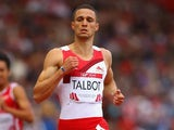 England's Danny Talbot during the men's 200m heats on July 30, 2014
