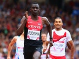 David Rudisha of Kenya competes in the Men's 800 metres heats at Hampden Park during day six of the Glasgow 2014 Commonwealth Games on July 29, 2014