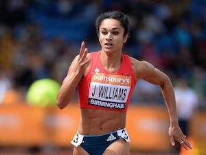 Result: Three English women in 200m final