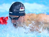 Joe Roebuck of England competes in the Men's 100m Butterfly Semi Final 2 at Tollcross International Swimming Centre during day four of the Glasgow 2014 Commonwealth Games on July 27, 2014