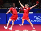 Result: England win table tennis mixed doubles bronze to continue domination