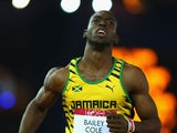 Kemar Bailey-Cole wins gold in the men's 100m on July 28, 2014