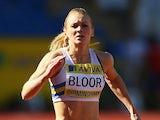 Louise Bloor in action in 2009