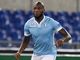 Michael Ciani of SS Lazio in action during the UEFA Europa League Group J match between SS Lazio and Apollon Limassol FC at Stadio Olimpico on November 7, 2013