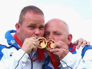 Scotland's men's pair win record 12th gold