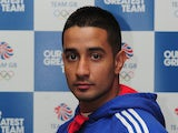 Qais Ashfaq of Team GB poses for a portrait during the Team GB kitting out event ahead of the London 2012 Olympic Games at Loughborough University on July 3, 2012