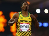 Rasheed Dwyer of Jamaica wins gold in the Men's 200 metres Final at Hampden Park during day eight of the Glasgow 2014 Commonwealth Games on July 31, 2014