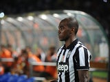 Angelo Ogbonna of Juventus FC during the pre-season friendly match between Indonesia Selection All Star Team and Juventus FC at Gelora Bung Karno Stadium on August 6, 2014