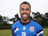 Northampton Town loan signing Jordan Archer poses prior to a training session at Moulton College on August 5, 2014