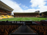 A general view from inside Molineux ahead of Wolves' opening Championship game against Norwich on August 10, 2014