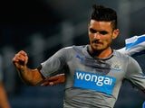 Remy Cabella of Newcastle during the Pre Season Friendly match against Huddersfield Town on August 5, 2014