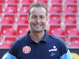 Kasper Hjulmand, Danish head coach of German first division football club FSV Mainz 05 poses for a photo in Mainz, Germany, on July 18, 2014