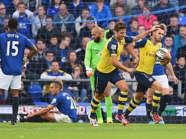 Result: Arsenal fightback stuns Everton