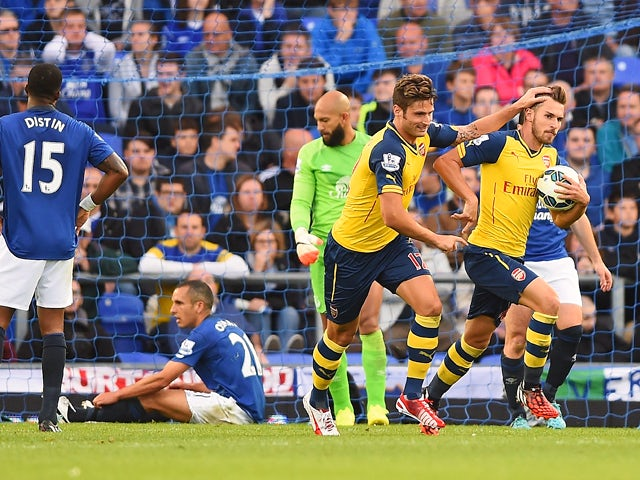 Result: Arsenal fightback stuns Everton