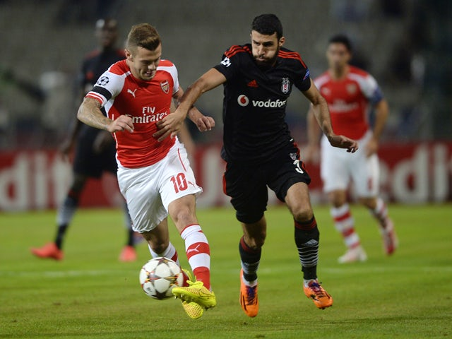 Result: Ten-man Arsenal hold on to draw