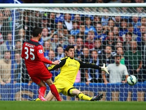 Courtois: 'Chelsea on the right path'