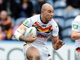 Chev Walker of Bradford during the Super League match between Huddersfield Giants and Bradford Bulls at John Smith's Stadium on March 3, 2013