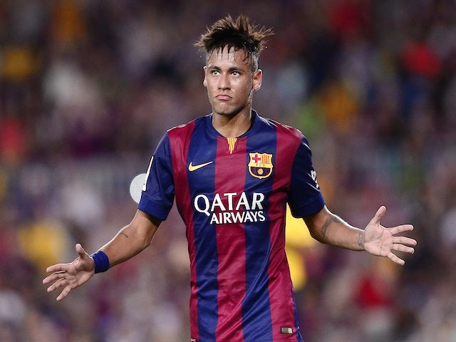 Result: Neymar brace seals Barca win