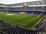 General view of the Red Bull Arena, home of FC Salzburg taken during the Austrian Bundesliga match between FC Salzburg and FK Austria Wien held on May 26, 2013