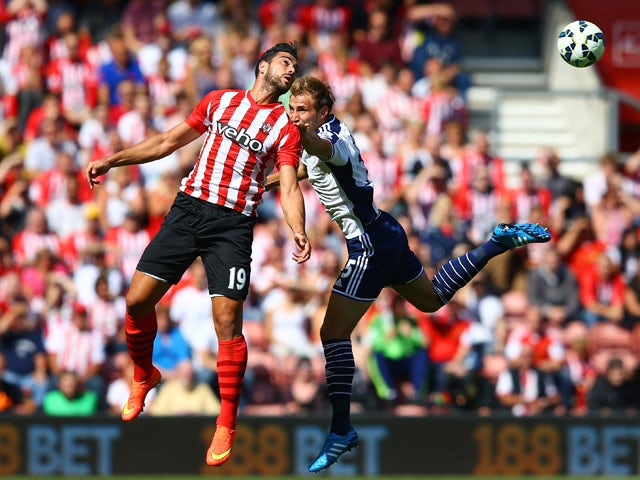 Result: Southampton held by West Brom