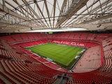 General view of Athletic Club Bilbao San Mames Stadium before the La Liga match between Athletic Club and Levante UD at San Mames Stadium on August 30, 2014