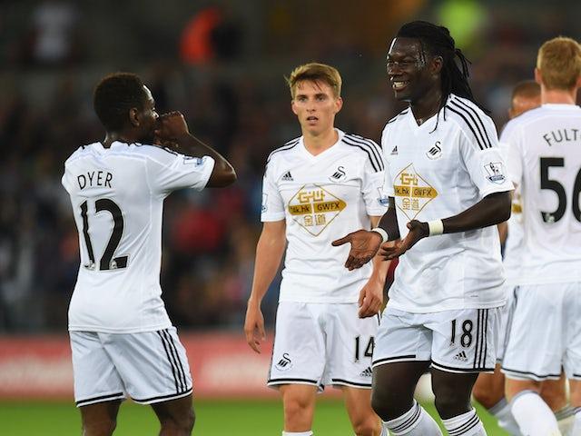 Result: Swansea return to winning ways