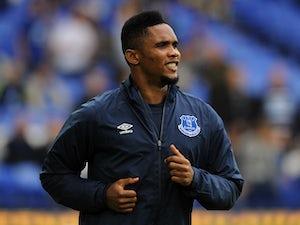 Eto'o, Distin back for Everton