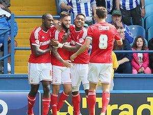 Hofmann strike earns 10-man Brentford win