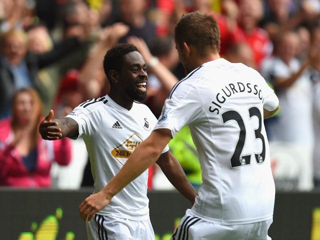 Result: Dyer brace leads Swansea to win