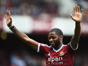 Song feeling the love at West Ham