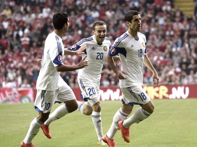 Result: Denmark down Armenia