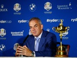 Paul McGinley announces his captain's picks for the 2014 European Ryder Cup team at Wentworth on September 2, 2014