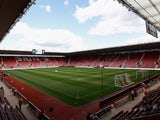 A general view ahead of the Barclays Premier League match between Southampton and West Bromwich Albion at St Mary's Stadium on August 23, 2014